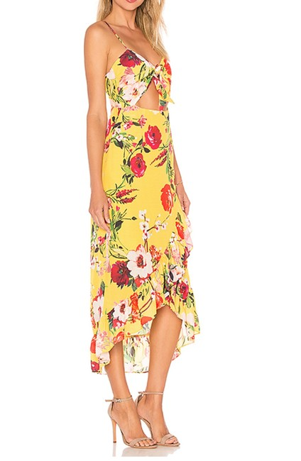 Privacy Please short dress Yellow with on Tradesy