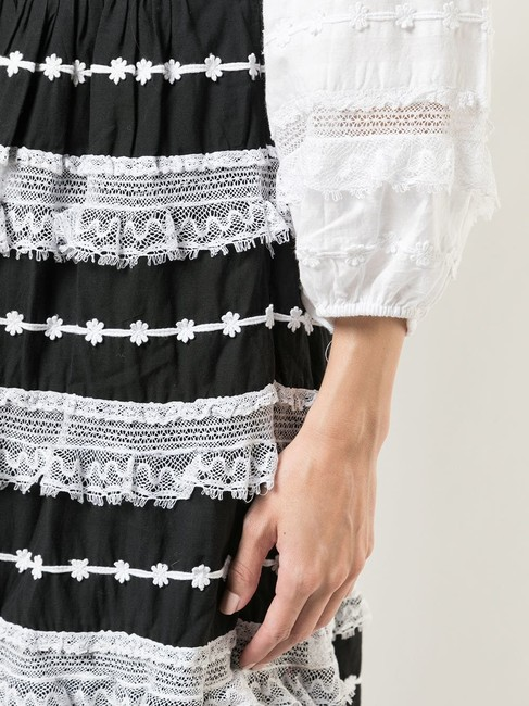 black and white Maxi Dress by Ulla Johnson Charline