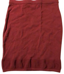 Romeo & Juliet Couture Skirt burgundy