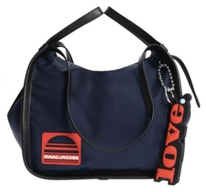 Marc Jacobs Sporty Nylon One Shoulder Casual Tote in Blue Sea