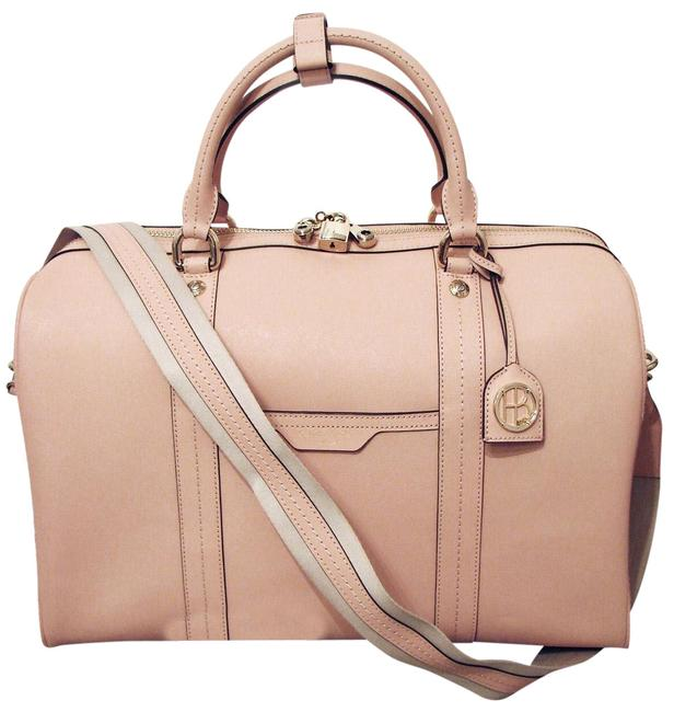 Item - Duffle West 57th Dusty Pink Leather Weekend/Travel Bag