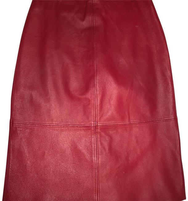 Item - Red Skirt Size 8 (M, 29, 30)