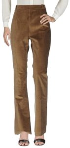 Pierre Balmain High Wasted New Tags Flare Pants Beige