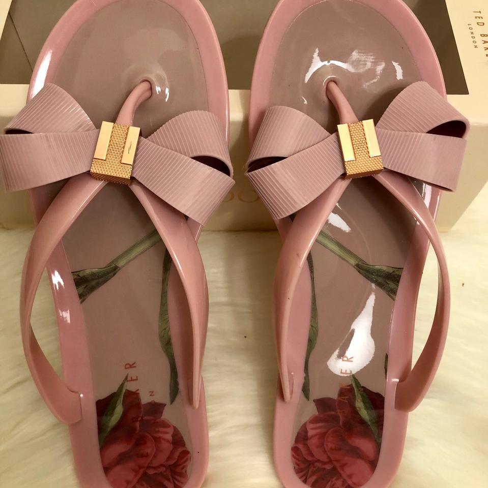 75501c36f47a7c Ted Baker Pink London Suszie Thong Sandals Size US 7 Regular (M