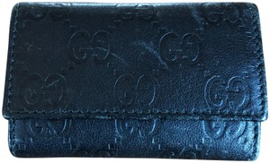 Gucci Gucci Key Case Leather 6 rings