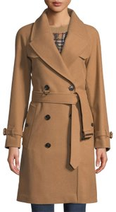 Burberry London Cranston Wool Cashmere Trench Coat