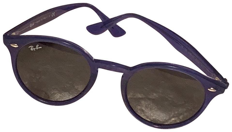 4359bec40e Ray-Ban Ray-Ban Purple Round Sunglasses Model code  RB2180 601 71 ...