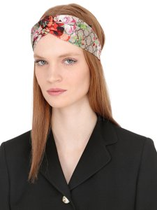 Gucci Multicolor Light Brown Pink Blooms Supreme Headband Hat - Tradesy ed90bbcb5fa