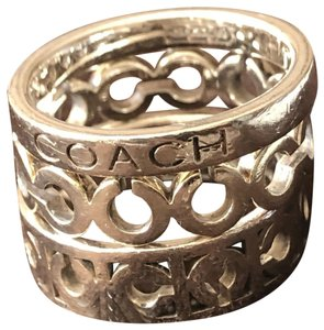 Coach Coach Signature Stack Rings