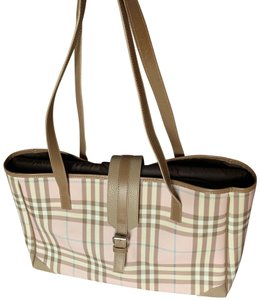 Burberry Pink Diaper Bag