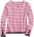 J.Crew Crew Ribbon Striped Nautical T Shirt