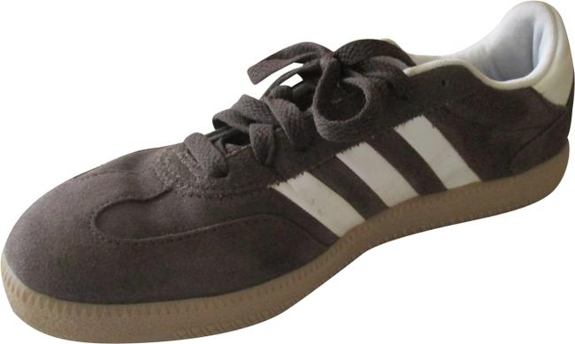 Item - Taupe Spezial/Brush Suede White Band Lace Up Sneakers Size US 6 Regular (M, B)