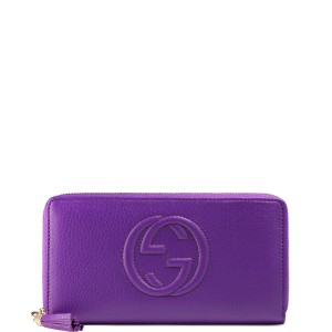 6b969acf0bf3 Gucci Gucci Soho Leather ZIP Around Wallet 308004 A7M0G