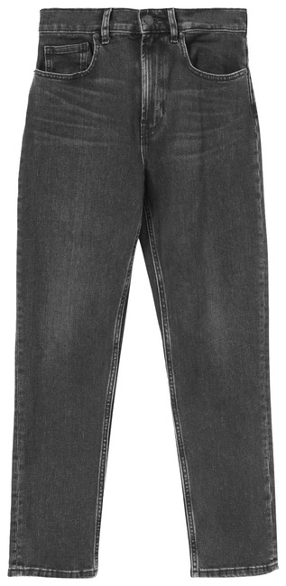 Item - Washed Black Medium Wash The Cheeky Straight Capri/Cropped Jeans Size 2 (XS, 26)
