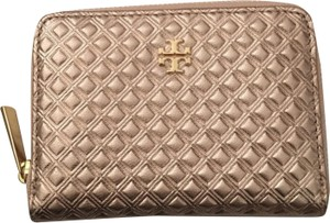 Tory Burch Marion Embossed Metallic Coin Case