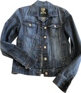 !iT Jeans La Blue denim Womens Jean Jacket