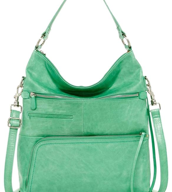 Item - Convertible Mint Green Leather  Bag