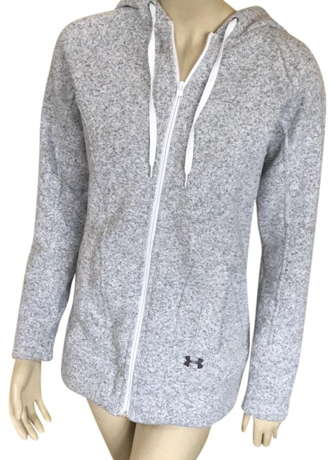 Item - Gray Heavy Zip Up Activewear Outerwear Size 6 (S)