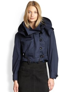 Burberry Hooded Dark blue Jacket
