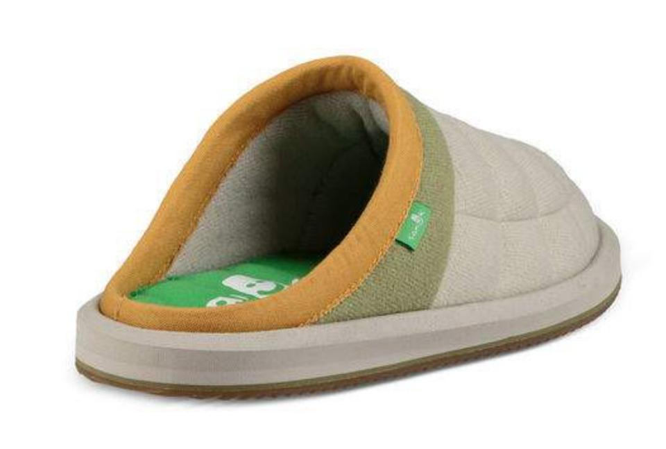2fc6939c2375 Sanuk Natural Puff N Chill Low Sidewalk Slippers Mules Slides Size ...