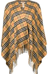 Burberry Burberry's checked cashmere and merino wool warp