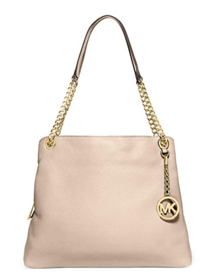 a53a1ed515311d Michael Kors Jet Set Large Chain Luggage Leather Shoulder Bag - Tradesy