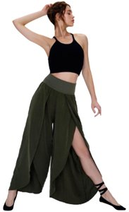 Free People Free People Movement Green Chica Lyrical Flow Pant
