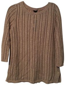 Talbots Top Gold Sparkly