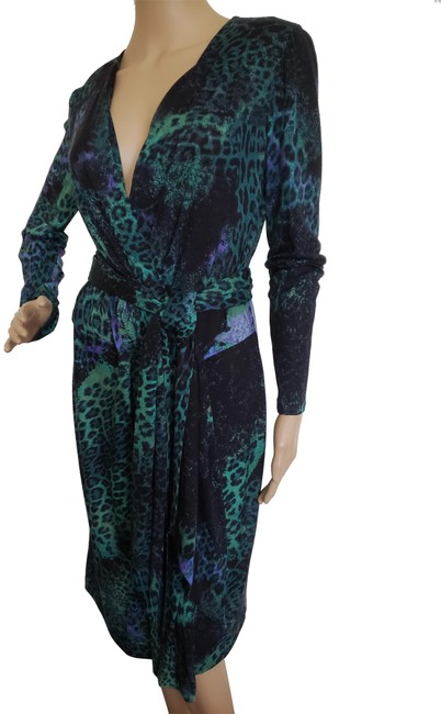 Preload https://img-static.tradesy.com/item/24802999/emilio-pucci-multicolor-green-black-long-sleeve-belted-midi-mid-length-cocktail-dress-size-12-l-0-2-650-650.jpg