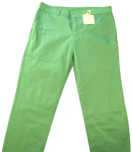KUT from the Kloth Straight Pants Green