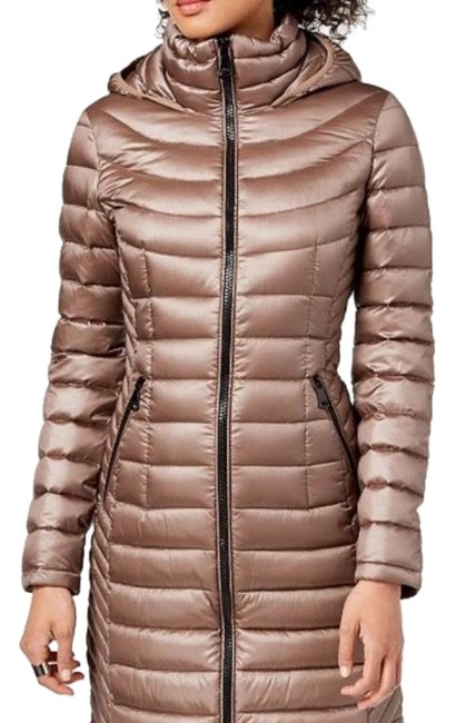 Item - Shiny Taupe Packable Puffer Coat Size 4 (S)