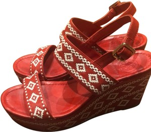 7f31a9df4abc Women s Red Tory Burch Shoes - Up to 90% off at Tradesy