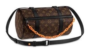 Louis Vuitton Brown/Black Messenger Bag