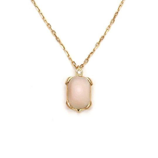 Preload https://img-static.tradesy.com/item/24803515/cartier-tortue-diamond-mother-of-pearl-18k-rose-gold-pendant-and-chain-cert-necklace-0-0-540-540.jpg