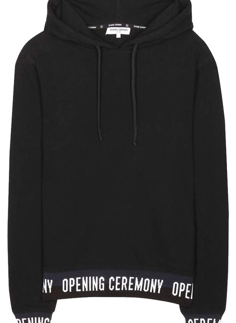 Preload https://img-static.tradesy.com/item/24803583/opening-ceremony-black-elastic-sweatshirthoodie-size-2-xs-0-1-650-650.jpg