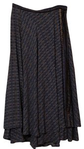 Free People Maxi Skirt Turquoise, Blush, Black and Blue