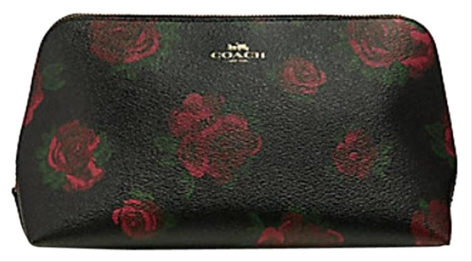 a472cde3b398c Coach Coach COSMETIC CASE 22 WITH BABY BOUQUET PRINT Floral F32000 Image 0  ...