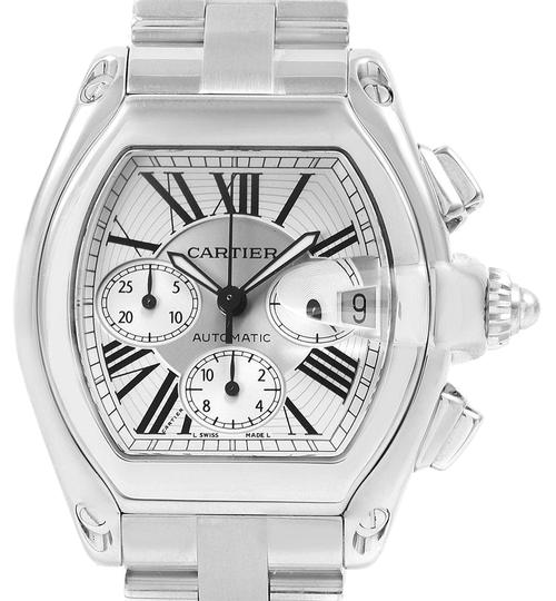 Preload https://img-static.tradesy.com/item/24804139/cartier-silver-sunray-effect-roadster-xl-mens-w62019x6-watch-0-1-540-540.jpg