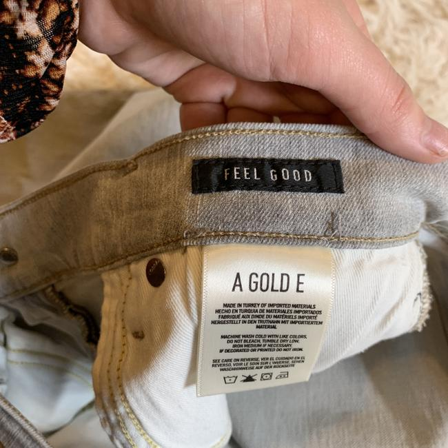 AGOLDE Destroyed Distressed Skinny Jeans