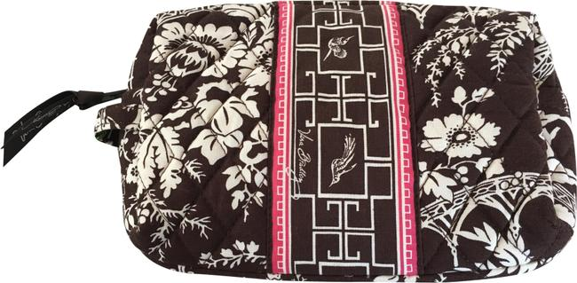 Item - Brown and White New with Medium Imperial Toile Cosmetic Bag