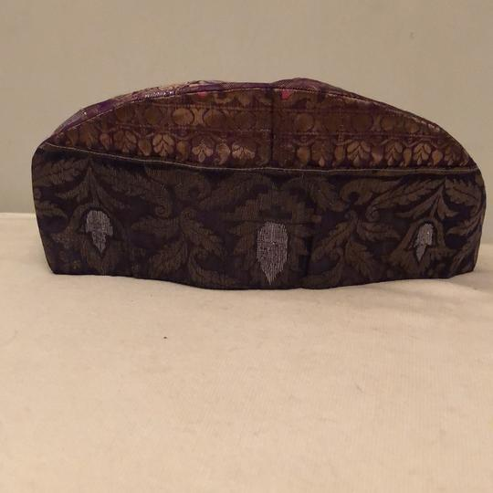 Louise Green Vintage Silk Pill Box Style Image 3