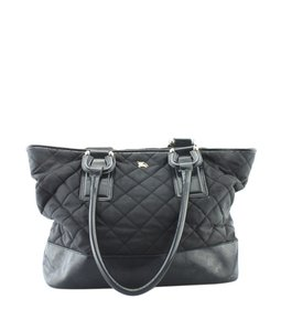 Burberry Canvas Adult Gold-tone Tote in Black