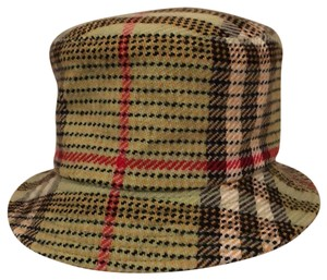 Burberry Green Multi Bucket Style Plaid Hat - Tradesy 0e540392dfb