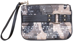 Express Camouflage Sequins Nwot Wristlet in multi