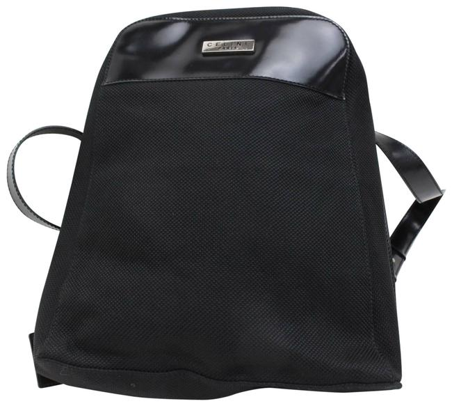 Item - Jacquard 870051 Black Canvas Backpack