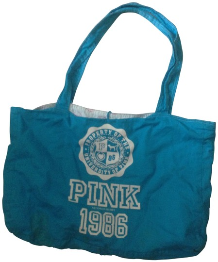 Preload https://item1.tradesy.com/images/victoria-s-secret-pink-neon-blue-tote-24805-0-0.jpg?width=440&height=440