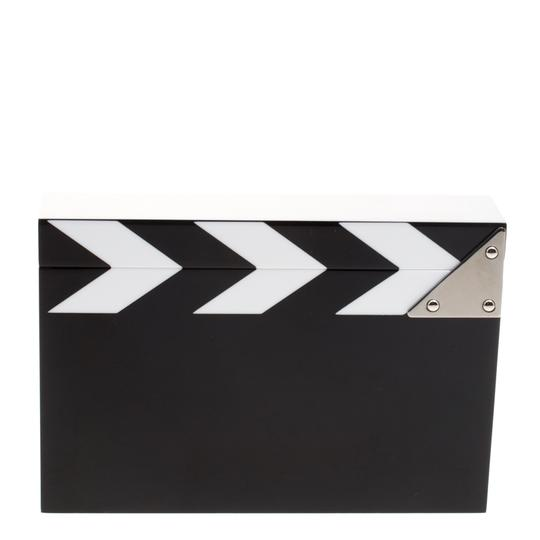 Charlotte Olympia Perspex Black/White Clutch