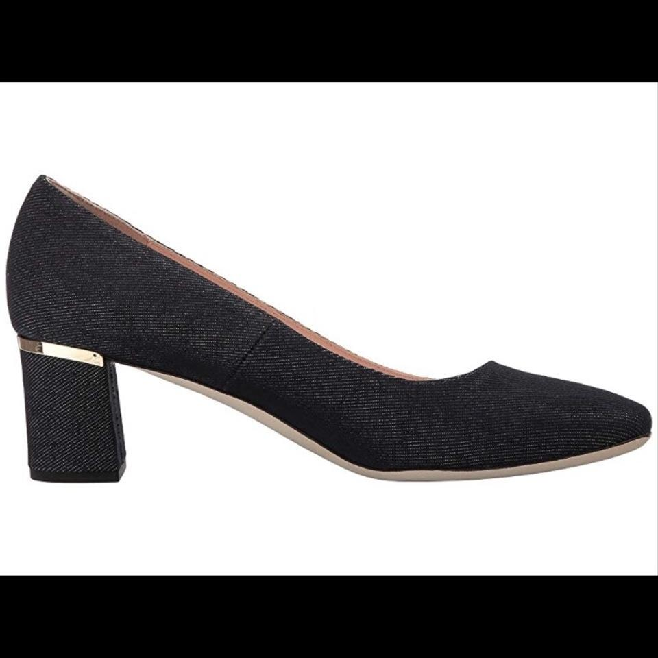 a82b64e7bae Kate Spade Blue Jeans Fabric Dolores Too Pumps Size US 7 Regular (M ...