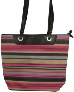 b009a7b8e9b8 Franco Sarto Animal Print Hot Stripes Tote in Black