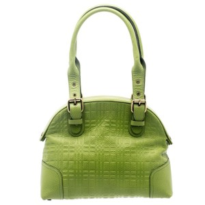 5f17d03f490e Green Burberry Satchels - Up to 90% off at Tradesy